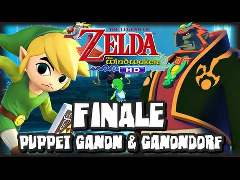 The Legend of Zelda Wind Waker HD Wii U - (1080p) Part 24 FINALE - Puppet Ganon & Ganondorf