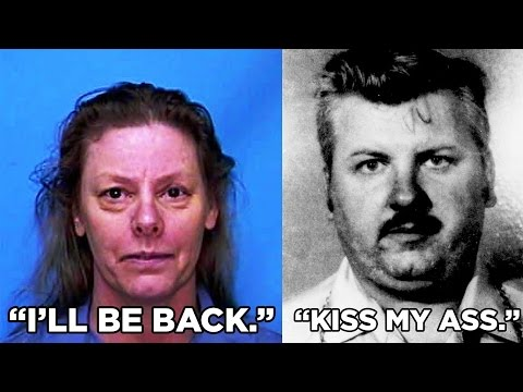 ♛ Fascinating Last Words From Serial Killers