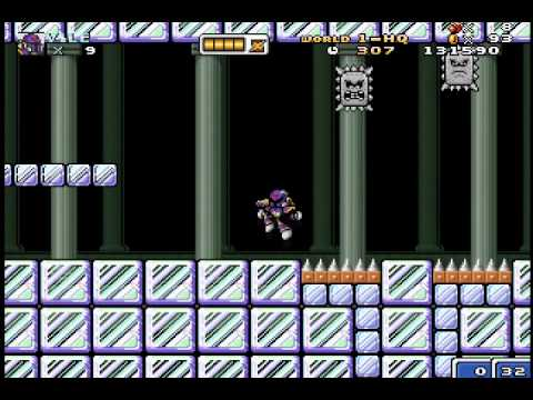 (BLIND) Let's Play Mushroom Kingdom Fusion 51 - The Ice Fortress