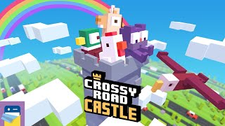 Crossy Road Castle: Apple Arcade iOS Gameplay Walkthrough Part 1 (by HIPSTER WHALE)
