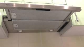 видео Плоские вытяжки для кухни