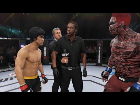 Bruce Lee Vs. Hell Samurai (EA Sports UFC 3) - Rematch - Epic Battle 💯 🐲