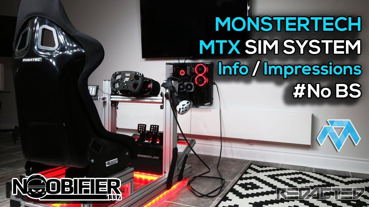 Monstertech MTX Sim System - Release Info Assemble Impressions - #noBS
