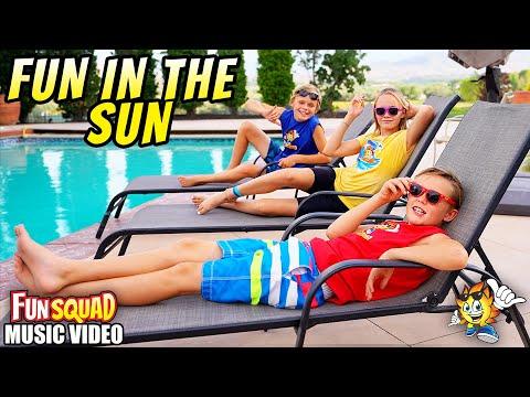 Fun In The Sun! (Official Music Video) The Fun Squad Sings on Kids Fun TV!