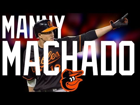 Manny Machado | 2016 Orioles Highlights ᴴᴰ