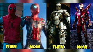 Avengers: What The Cast Looked Like In Their First Movie Vs Now. Marvel.