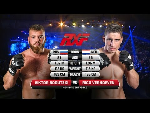 Rico Verhoeven (Debut) vs Viktor Bogutzki
