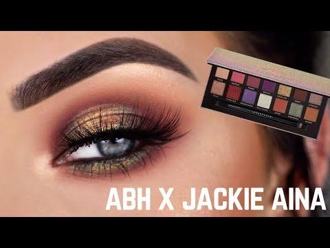 NEW ABH x Jackie Aina Eyeshadow Palette | Review + Eye Makeup Tutorial thumbnail