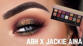 NEW ABH x Jackie Aina Eyeshadow Palette | Review + Eye Makeup Tutorial