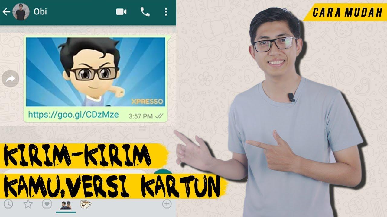 Cara Bikin Animasi Dirimu Gif Di Whatsapp Pakai Aplikasi Gratis Youtube