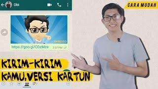 Download lagu Cara Bikin Animasi Dirimu (GIF) di Whatsapp Pakai Aplikasi Gratis!