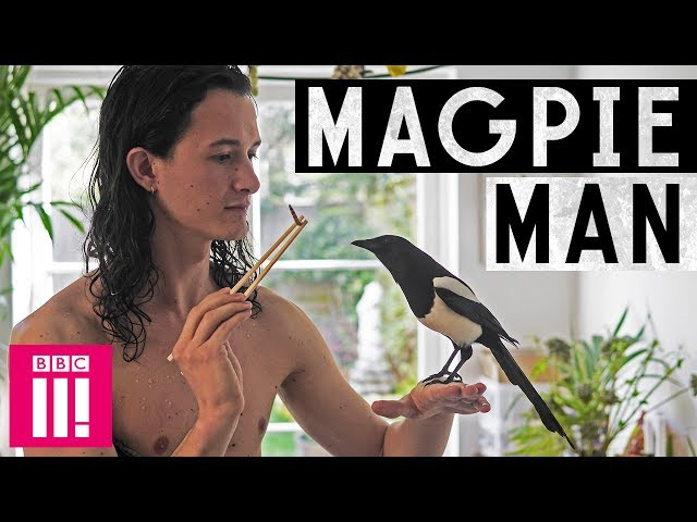 My Unusual Life | The Man Who Lives With a Magpie