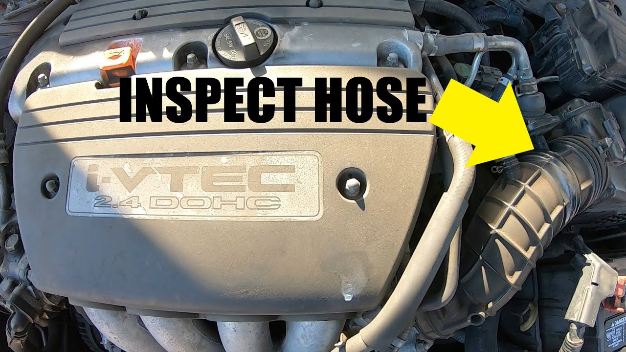 ZENITHIKE Engine Air Filter Intake Outlet Hose Replace for 2003-2007 H-onda Accord
