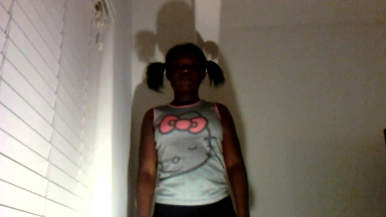 girl dancing girl black White like