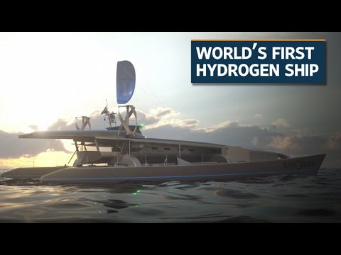 Green energy-powered boat readies for round the world trip