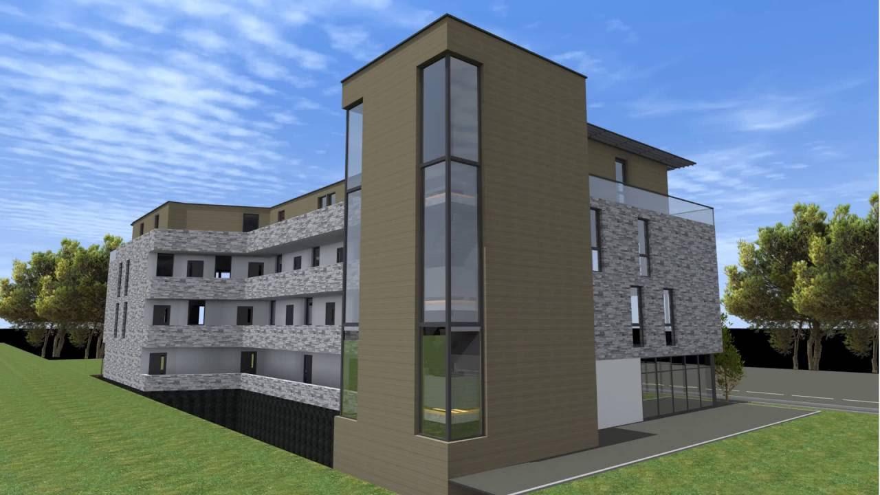 Hus i moderne stil del 2 fra Studio K.Design - YouTube