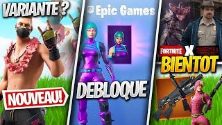 "NEW SKIN ""COLORA"", SKINS STRANGER THINGS, POMPE AKIMBO? Other on FORTNITE! (Fortnite News)"