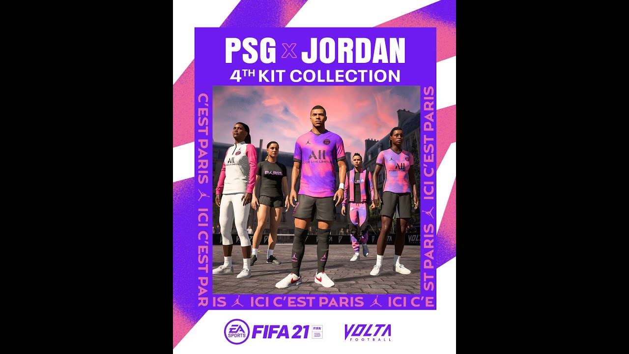 psg x jordan new 4th kit launched in