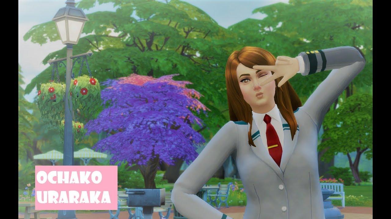 Ochako uraraka | Create a sim | The pastel ghostii