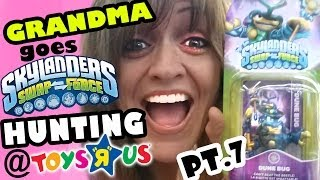 Grandma goes Wave 3 Hunting for Skylanders Swap Force - pt.7 - Dune Bug & Friends