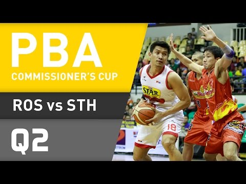 RAIN OR SHINE VS. STAR - Q2 | Commissioner