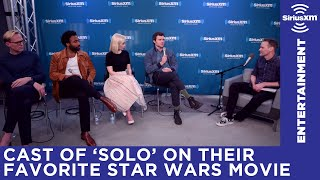 A New Hope or Empire Strikes Back? The cast of Solo: A Star Wars Story weighs in