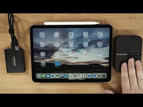 Connect Any Hard Drive To An IPad Pro
