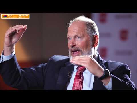David M. Cote talks about Transforming Industrial to Software-Industrial || NILF 2018