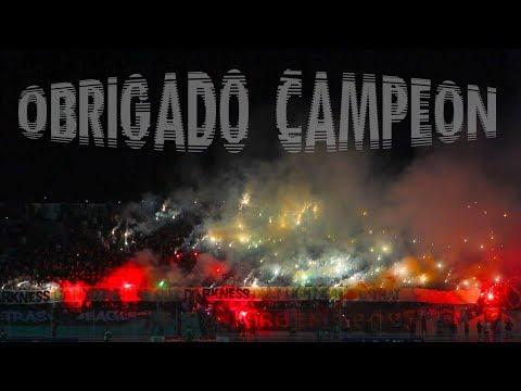 Curva Sud Magana   OBRIGADO CAMPEON - RAC VS RCA