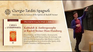 "Presentation of the book ""Kabbalah & Anthroposophy"" – Rudolf Steiner Haus Hamburg"