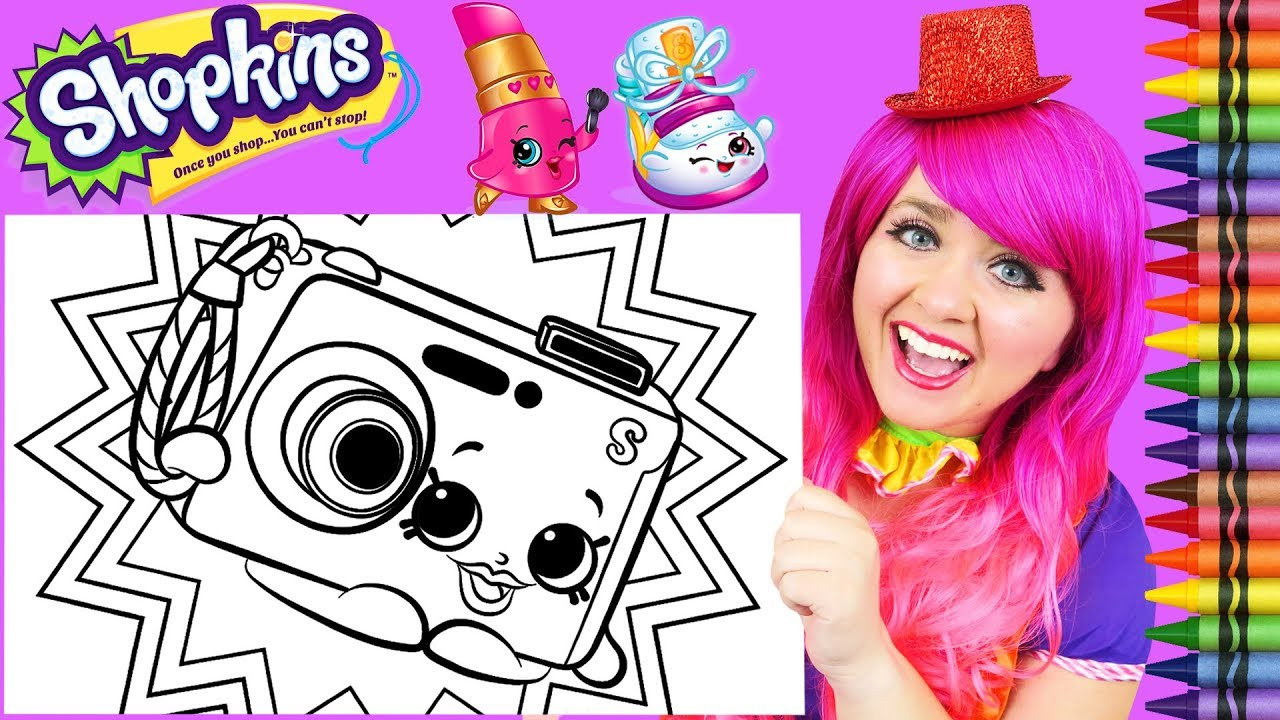 Coloring Shopkins Pictures