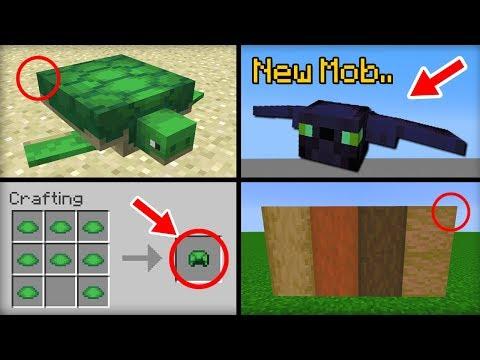 ✔ Minecraft 1.13 Update - 15 Features That Were Added