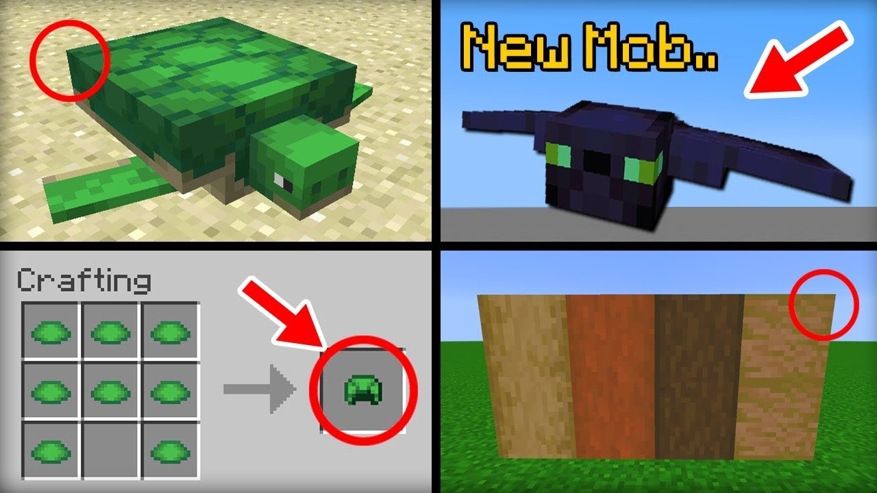 minecraft update 15 features that were added youtube. Black Bedroom Furniture Sets. Home Design Ideas