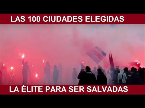 LAS 100 CIUDADES ELEGIDAS POR LA ÉLITE PARA SER SALVADAS ANTE CUALQUIER ESCENARIO