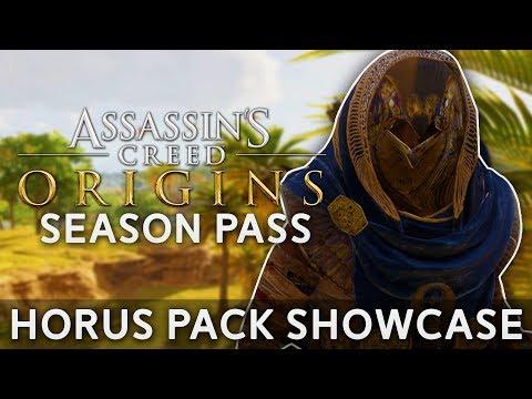 Assassin's Creed Origins | Season Pass - Horus Pack Showcase