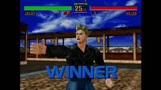 "Virtua Fighter 2 (Hardest) - Jacky - 1'53""57 [Game Time]"