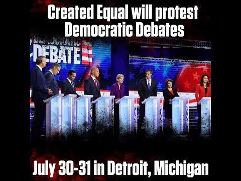 Why Protest the Presidential Debates? | The Mark Harrington Show | 7-25-19