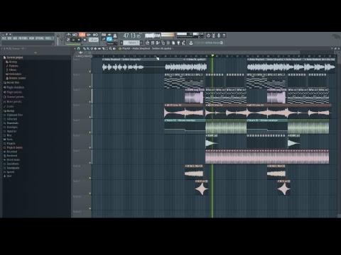 working on Amba Shepherd - Soldier remix