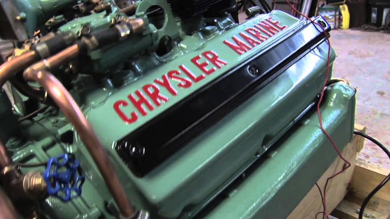 Chrysler Marine Hemi 354 Jan 7 2012 Youtube