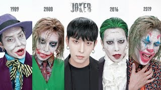 The History of Joker makeupㅣSE…