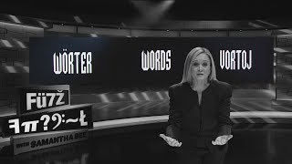 Fantastic Words and Where Not To Find Them | June 21, 2017 Part 3 | Full Frontal on TBS by : Full Frontal with Samantha Bee