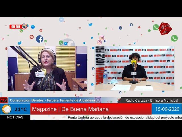 Radio Cartaya | Consolación Benítez, Tercera Teniente de Alcaldesa