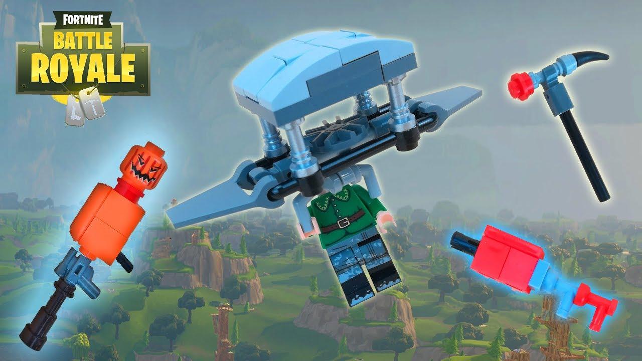 Lego Fortnite Tactical Shotgun Jack O Launcher Pulse Axe And