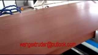 Artificial Wood Wpc Furniture Board Production Line