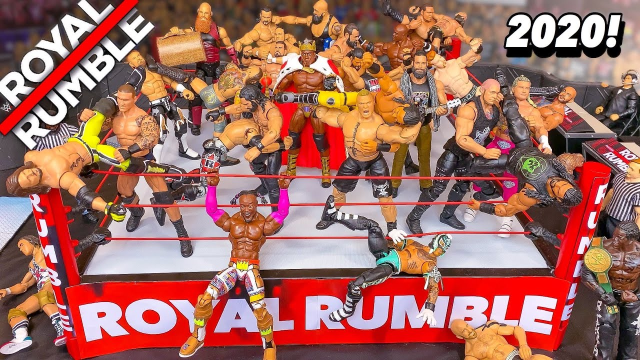 Wwe Royal Rumble Action Figure Match Youtube