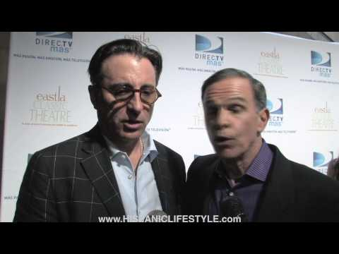 Hispanic Lifestyle interviews Andy Garcia and Tony Plana East LA Classic Theatre