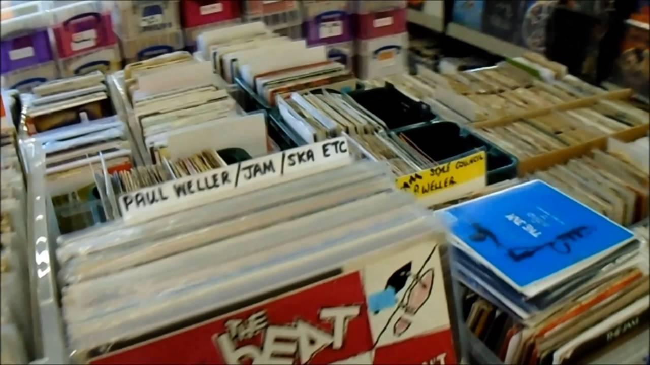 Uptown Vinyl Records - Shop Tour - Lincolnshire Vinyl Record Shop, UK