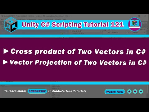 C# Unity 121 - Cross product & Projection vector