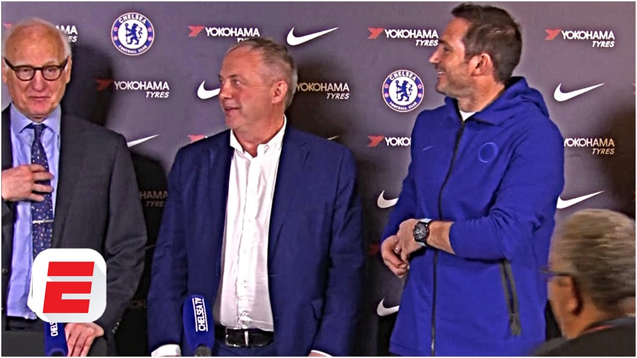 Download Chelsea chairman teases transfers before Frank Lampard's press conference | Premier League