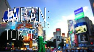 Japan: Day 13 - Tokyo Shopping